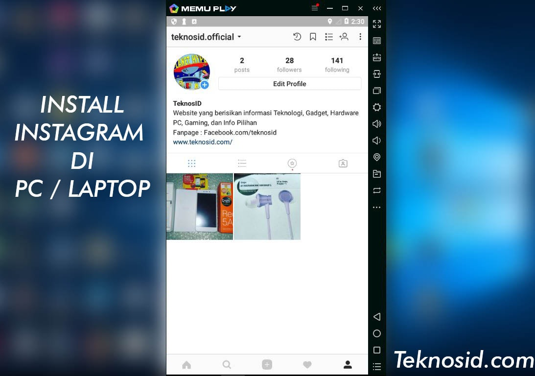 Cara Buka Install Instagram di PC & Laptop-c