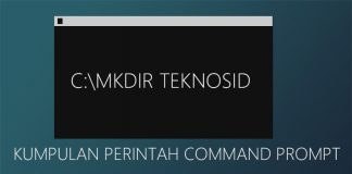 Kumpulan Perintah Command Prompt - Windows
